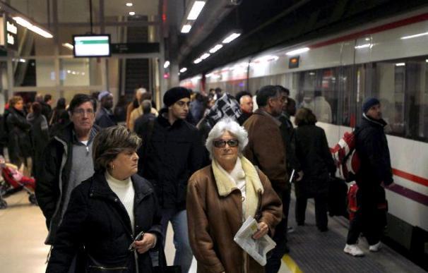 Cerca de 400.000 usuarios afectados por el colapso de Rodalies de Barcelona
