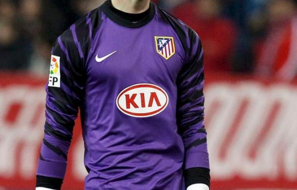 El portero del Atlético dice que trabajará para estar en el próximo Mundial