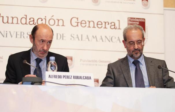 """Rubalcaba dice que el terrorismo internacional """"no existiría si no existiera Internet"""""""