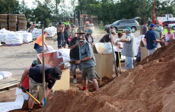 Centenares de hogares amenazados por las riadas en el sureste de Australia