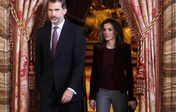 Los reyes presiden la reunión anual del patronato de la Fundación Princesa de Girona