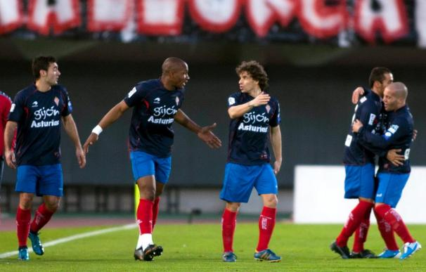 0-4. El Sporting gana en Mallorca el primer partido lejos de El Molinón