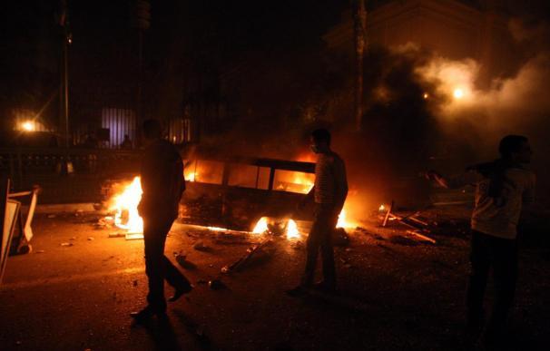 Los sindicatos árabes apoyan las protestas del pueblo egipcio frente a Mubarak