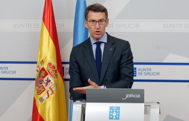 """Feijóo apela a la """"tranquilidad"""" y respeto a la acción judicial en la Cóndor, sobre la que no tiene más datos"""
