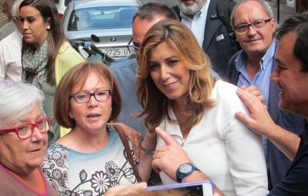 """La plataforma de Susana Díaz en Cataluña pide a los cuadros del PSC """"que la respeten"""""""