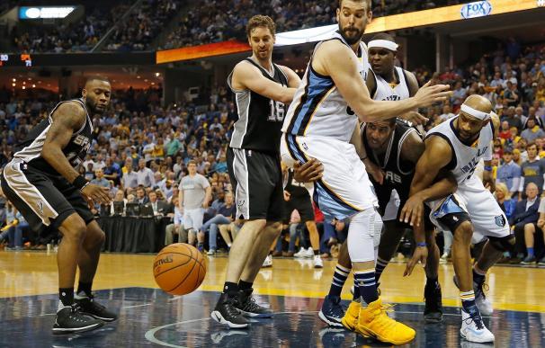 Los Spurs de Pau Gasol eliminan a los Grizzlies de Marc