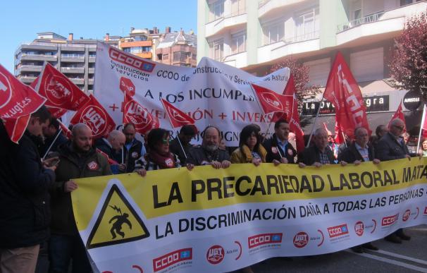 CCOO y UGT exigen aumentar la inspección y corregir políticas de desigualdad para frenar la siniestralidad laboral