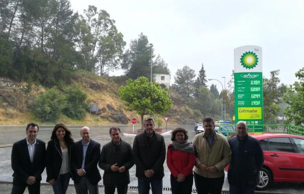 La Junta concluye todas las obras de emergencia ejecutadas en carreteras de Málaga por 3,35 millones de euros