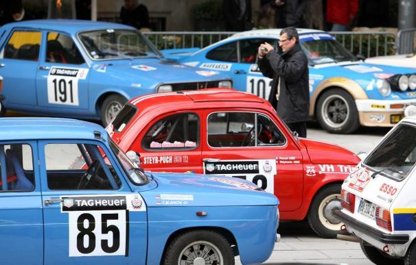 Barcelona acoge una de las salidas del Rally Montecarlo Histórico
