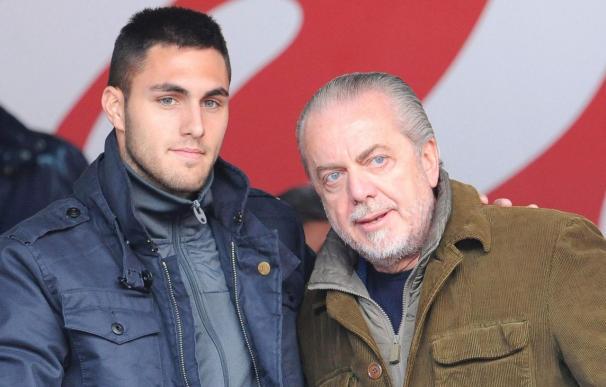 El español Víctor Ruiz, presentado como nuevo jugador del Nápoles
