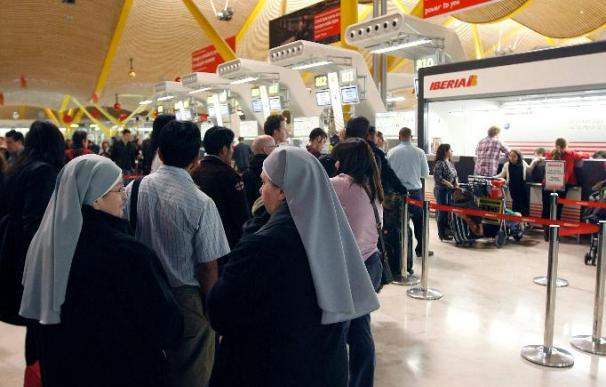 Seis aviones con turistas llegarán hoy a España desde Egipto