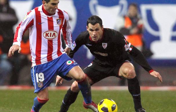 El jugador del Athletic Pablo Orbaiz jugará su partido 250 en Primera frente al Sporting