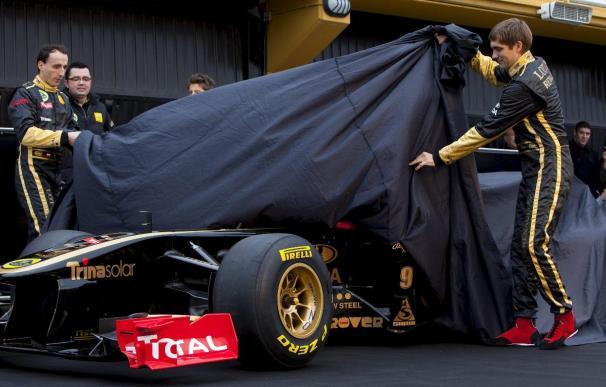 El R-31 de Renault Lotus sale a escena en Cheste