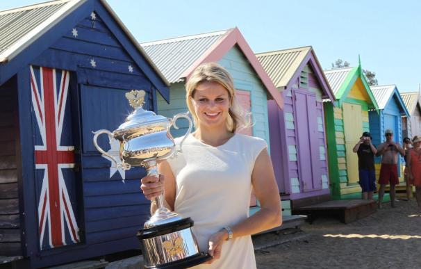 Clijsters se sitúa segunda tras ganar en el Abierto de Australia