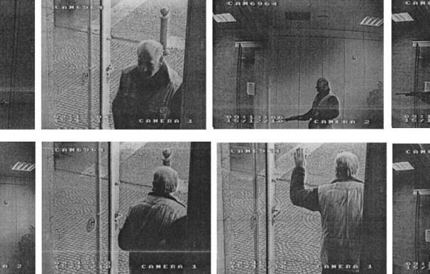 Una cámara de vigilancia grabó que el presunto asesino de Olot disparó tres veces en siete segundos