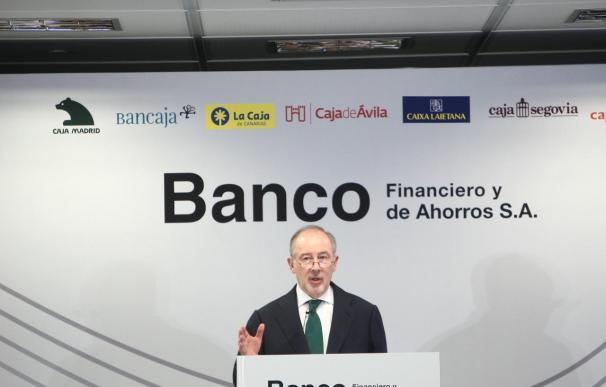 Rato: romper la competencia en el sistema financiero es un error