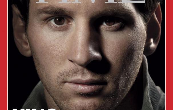 Leo Messi, portada de Time