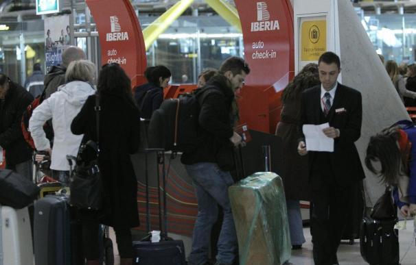 """""""Fluidez y normalidad"""" en los vuelos de Iberia en el séptimo día huelga"""