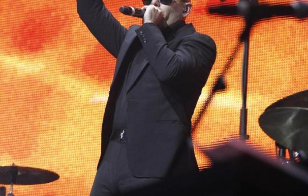 Pitbull pone a bailar a Madrid con sus ritmos discotequeros