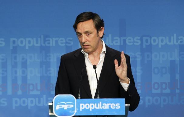 """Hernando (PP) pide explicaciones a Pablo Iglesias por las """"actividades nada claras"""" de Monedero"""