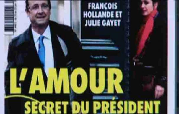 Un revista del corazón dice que Hollande tiene una relación con la actriz Gayet