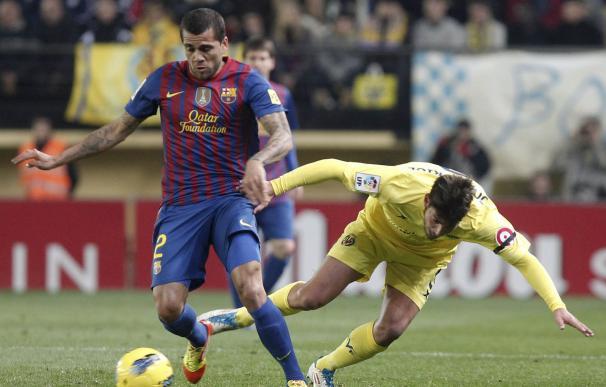 Liga BBVA: Villarreal - Barcelona en imágenes.