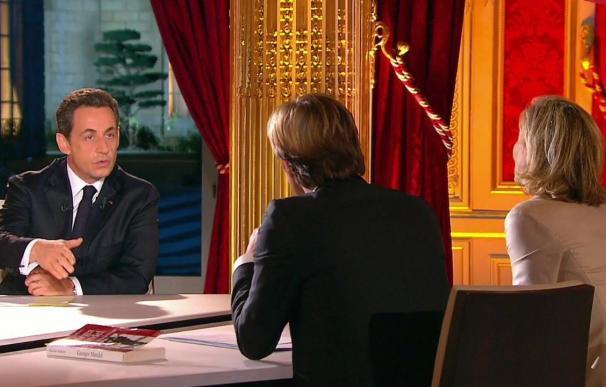 Sarkozy anuncia nuevas medidas económicas frente a la crisis