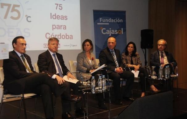 La Diputación colabora en la definición de '75 ideas para Córdoba'