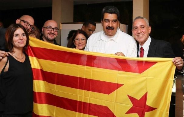 """Fernández Vara, sobre la foto de Maduro con la estelada: """"La vergüenza no tiene límites"""""""