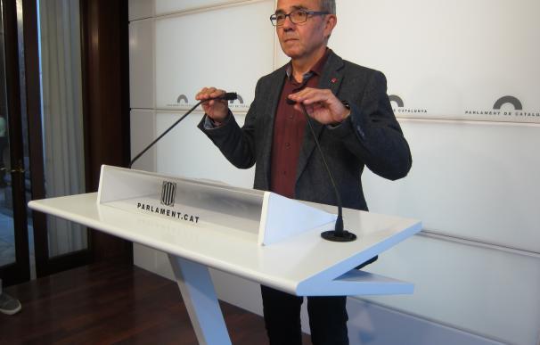 """El Parlamento catalán debatirá pedir a un órgano del Consejo de Europa """"asesoramiento"""" con el referéndum"""