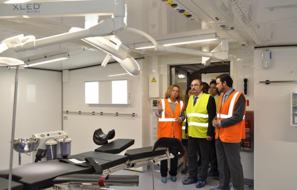 La empresa ARPA ultima la construcción de siete hospitales de campaña para Arabia Saudí y continúa con otros proyectos