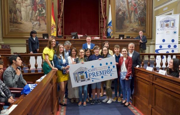 El IES Garoé de El Hierro gana 'I Concurso Regional de Debate Escolar'
