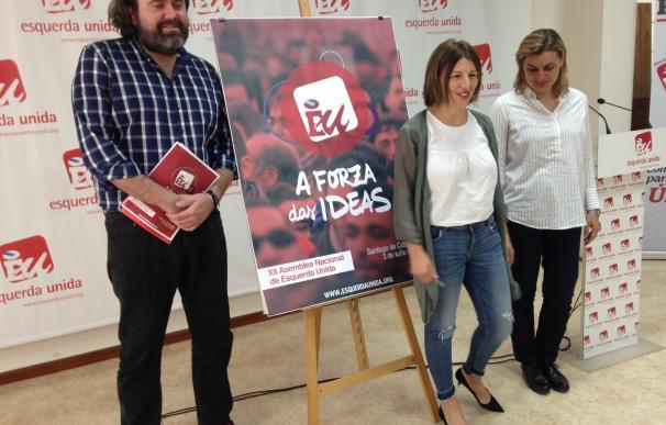 """Yolanda Díaz (EU) rechaza responder a las críticas de Beiras y reivindica que En Marea """"está viva"""" pese a los conflictos"""