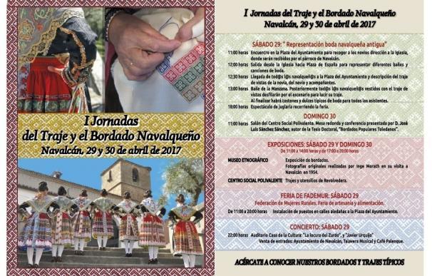 """Navalcán (Toledo) celebra este fin de semana una """"boda navalqueña antigua"""" en sus 'I Jornadas del traje y el bordado'"""