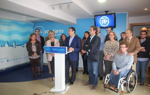 """Sanz presenta una candidatura para fortalecer al PP como proyecto político y para ser """"útil"""" para los ciudadanos"""