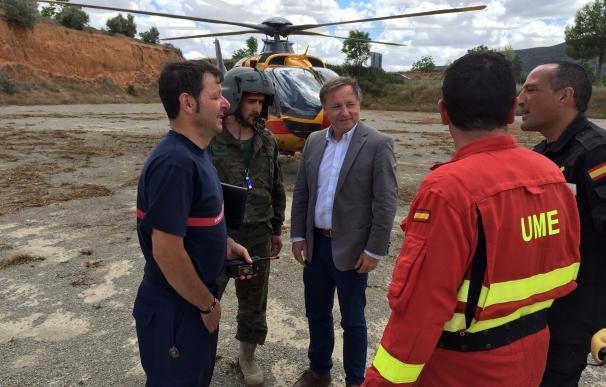 El Gobierno destinará 250.000 euros a actuaciones de emergencia en las localidades afectadas por incendios