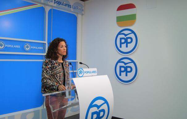 El PP, satisfecho por la reducción en 5 puntos de la tasa de riesgo de exclusión social en La Rioja