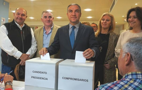 Bendodo anima a los afiliados del PP a participar en las votaciones del Congreso Provincial