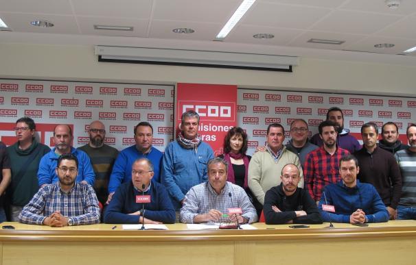 CCOO irá a huelga en Geacam si el 1 de junio no está creada la mesa de negociación colectiva
