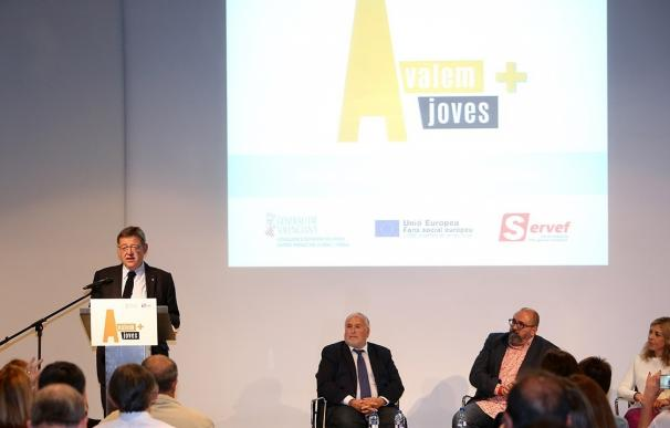 El programa Avalem Joves + destinará 26,6 millones para fomentar el empleo entre jóvenes de 16 a 29 años
