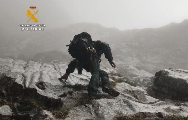 Rescatados tres senderistas holandeses que se habían desorientado en Picos de Europa