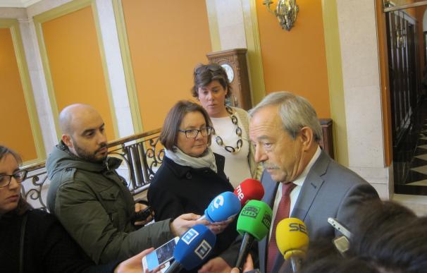 """El alcalde matiza que el Palacio de Deportes es """"una solución de emergencia"""" para el Oviedo Baloncesto"""