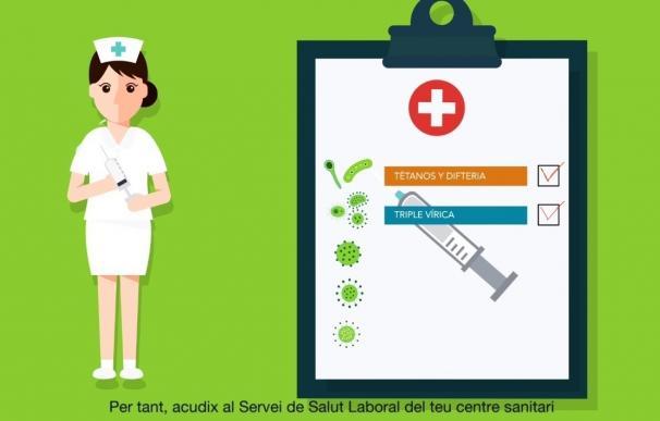 """El Colegio de Enfermería de Baleares pide retirar la campaña de Sanidad sobre vacunación por su imagen """"sexista"""""""