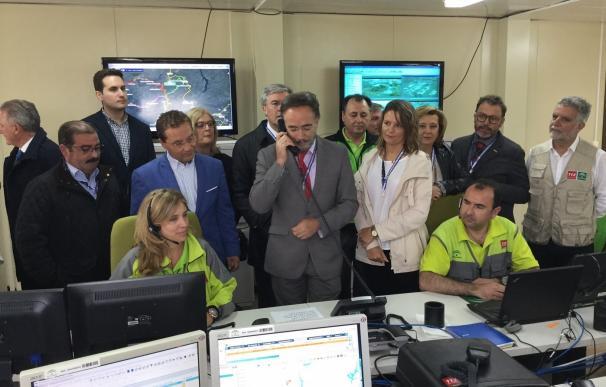 """La Junta destaca """"la solvencia y experiencia"""" del dispositivo de emergencia del Plan del Cerro"""