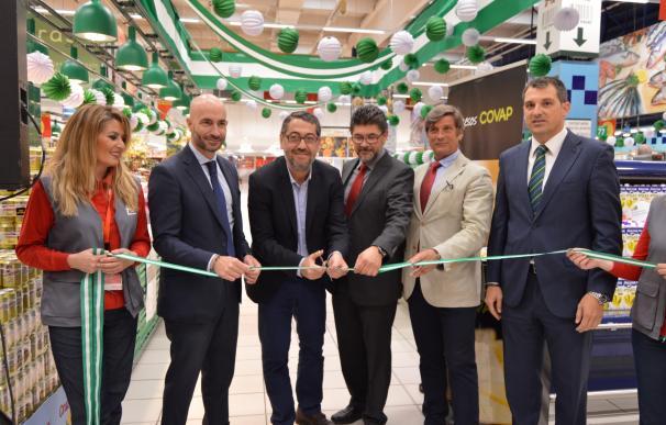 'Sabores de Andalucía' promociona los alimentos andaluces en 30 establecimientos Alcampo hasta el 12 de mayo