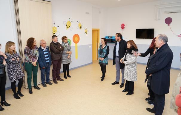 El Ayuntamiento de Valladolid inicia en Barrio España el empleo de aulas sin uso para instalar escuelas infantiles