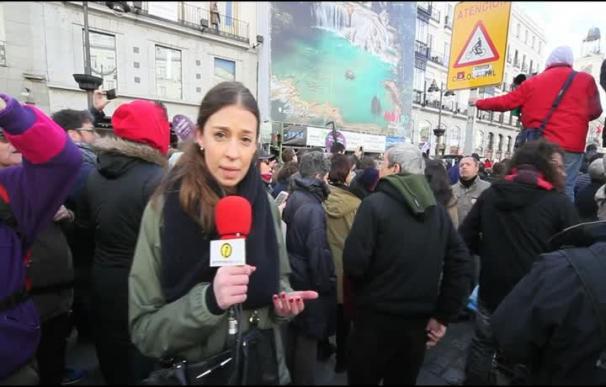 La 'Marcha por el cambio' inunda Madrid al grito de 'Sí se puede'