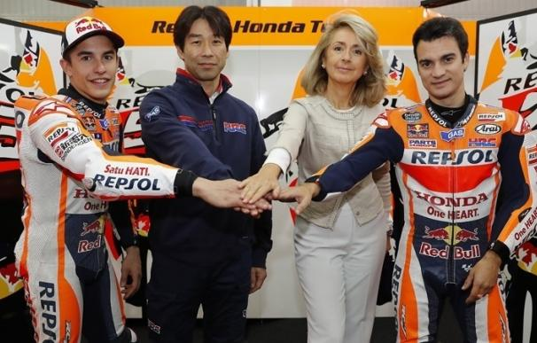 Repsol continuará patrocinando a Honda Racing Corporation hasta 2018