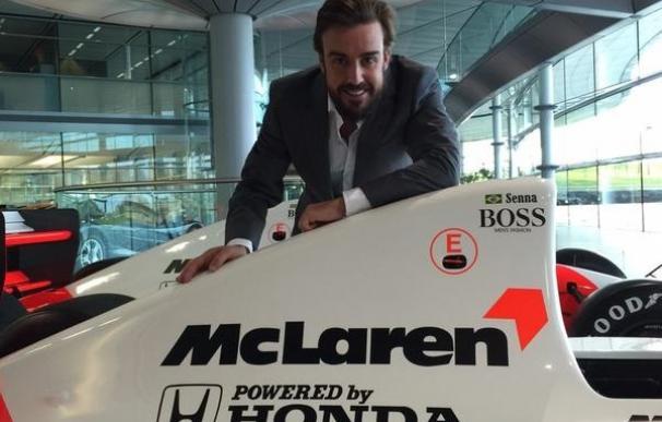 Fernando Alonso estrenará el MP4-30 en los entrenamientos de Jerez