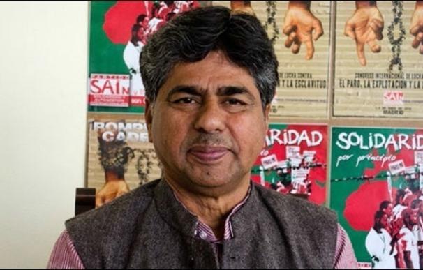 El activista indio Rajagopal P.V. visita Valladolid este lunes para presentar la marcha reivindicativa a Ginebra (Suiza)